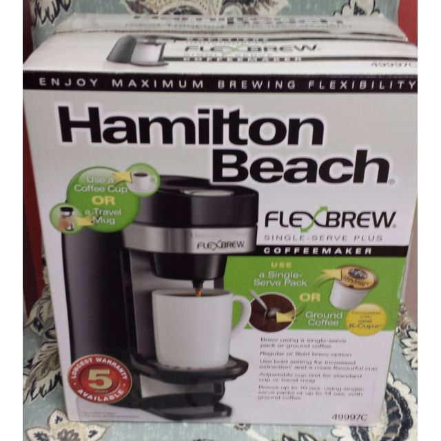 Hamilton Beach Single-Serve Plus Coffeemaker