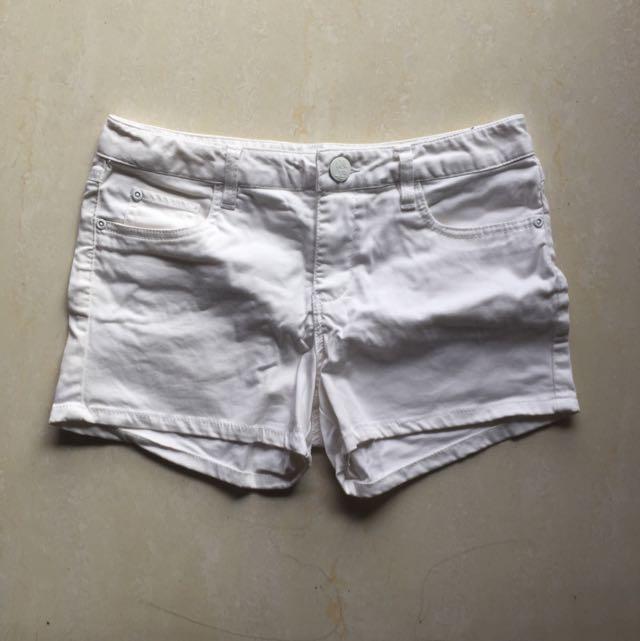 HangTen 白色短褲(適合穿去活動!white Party...)