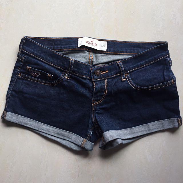 Hollister 正品牛仔短褲 (size 26)
