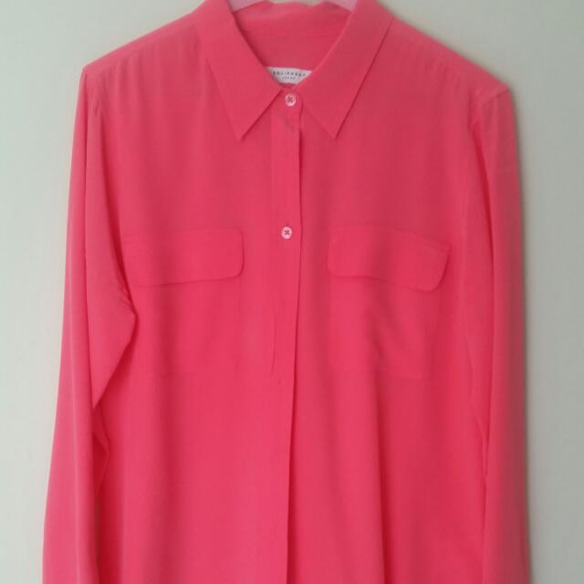 Hot Pink Dress Shirt
