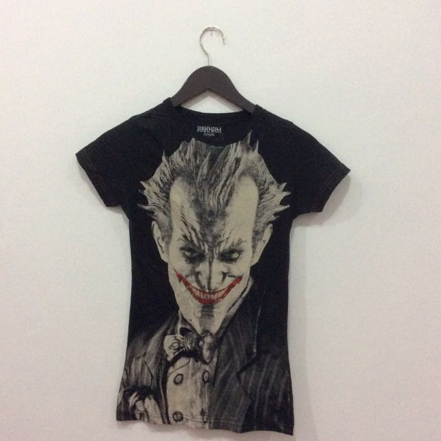 Joker Black Shirt Original Dc Comic