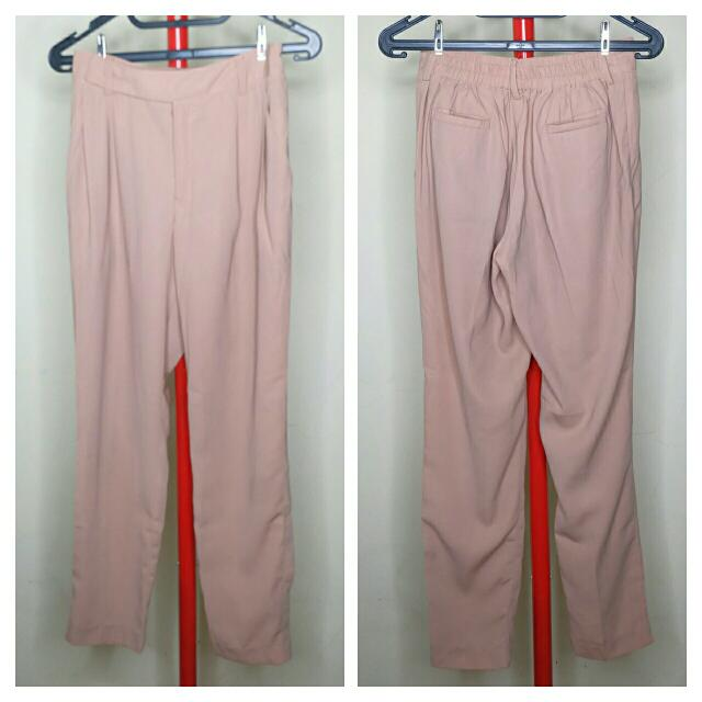 Kivee Light Brown Pants
