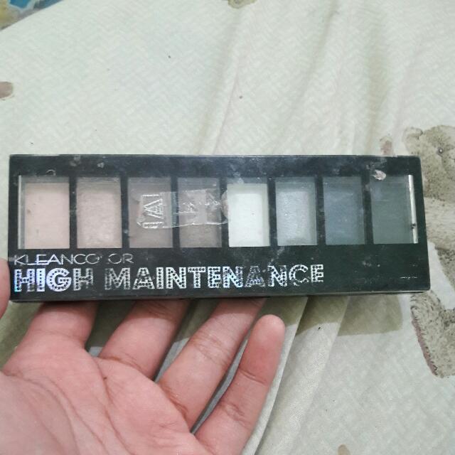 Kleancolor : HIGH MAINTENANCE Smokey Palette