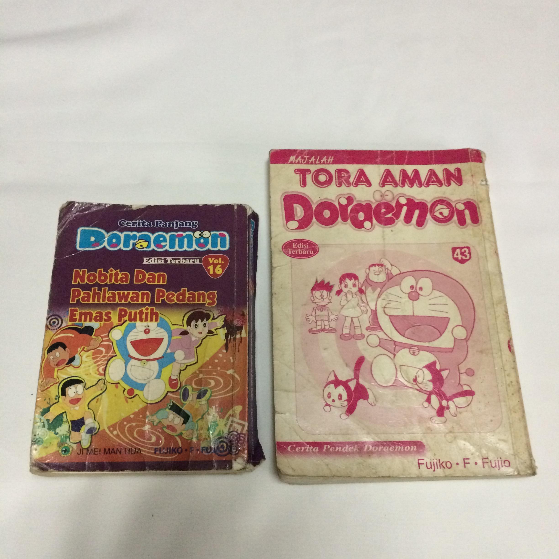 Komik Doraemon Bahasa Melayu Peralatan Tulis Buku Kanak Kanak Di