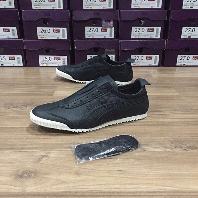 f78efd90597a1 Limited Edition Onitsuka Tiger Mexico 66 Slip On Deluxe Nippon Made [ Made  in Japan, from KOBE cow leather, Men's Fashion, Men's Footwear on Carousell