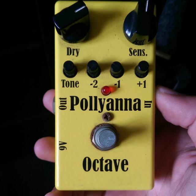 M I Audio Pollyanna V1 Octave Pedal