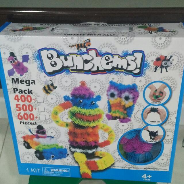 Mainan kreatifitas Bunchems