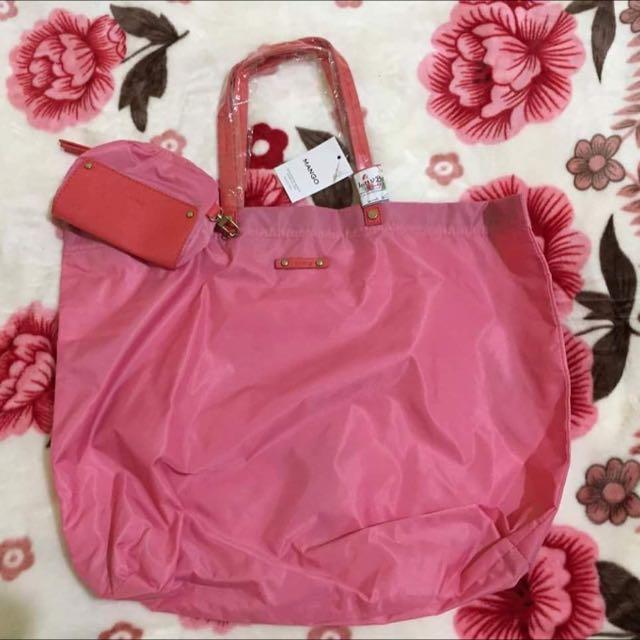 Mango Shopper's Bag + Purse Auth