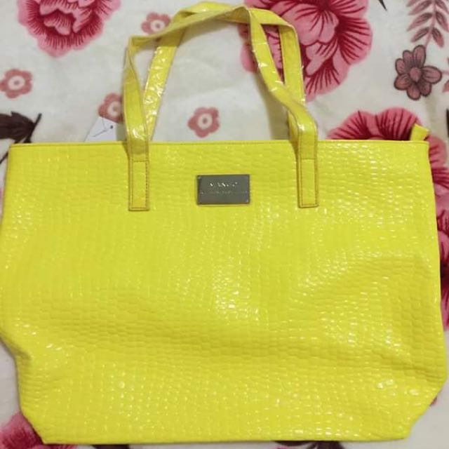 Mango Yellow Tote Bag Auth