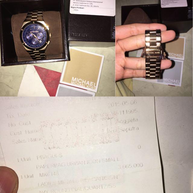 Michael Kors Chronograph 6148