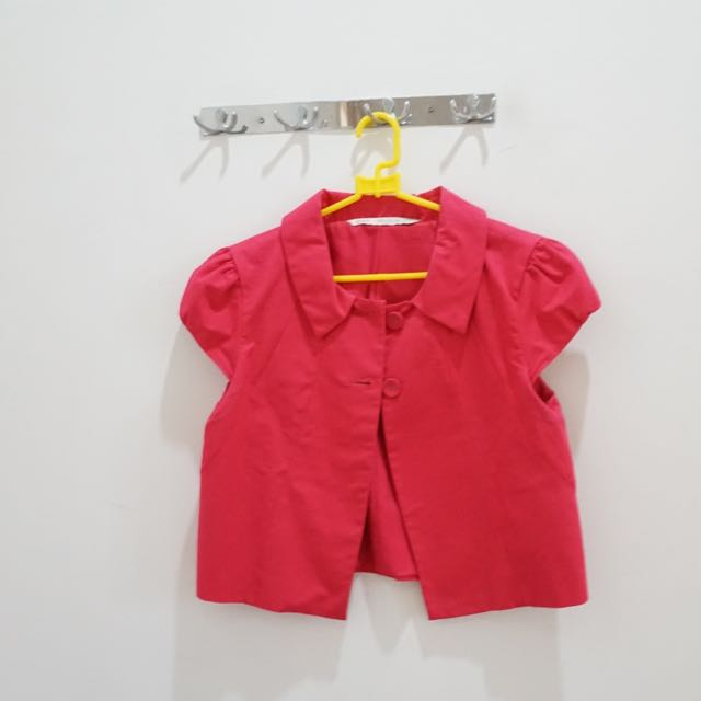 Minimal Pink Vest