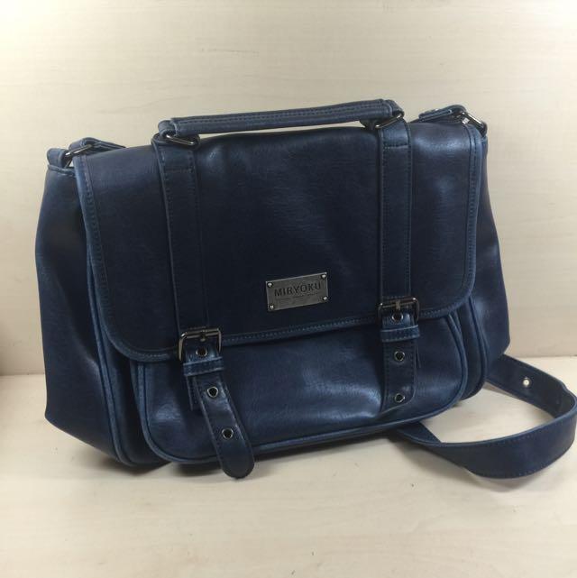 Miryoku 藍色 側背包/手提包