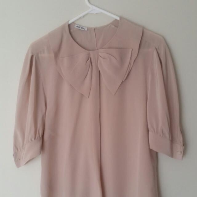 REDUCED! Miu Miu Blouse Top