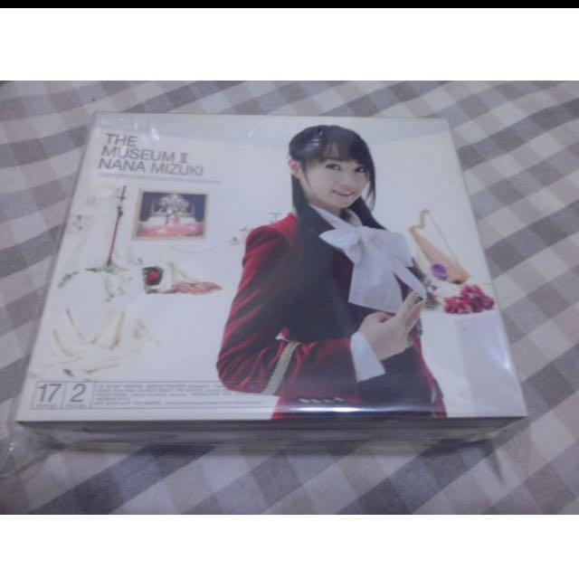 水樹奈奈NANA MIZUKI THE MUSEUM Ⅱ( CD+DVD )