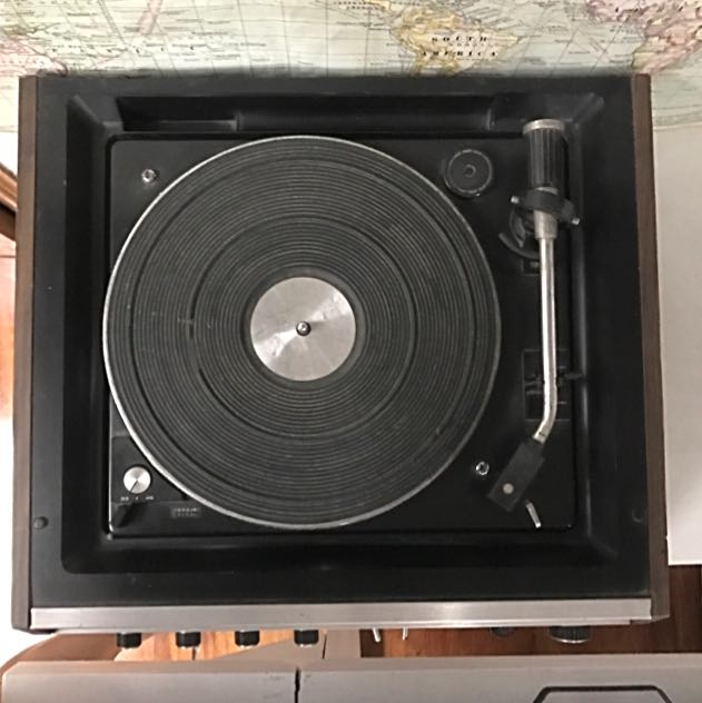 National Record player