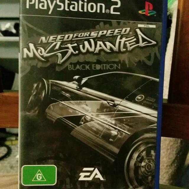 Need For Speed - Most Wanted. Black Edition