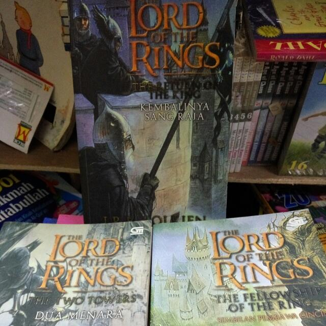 Novel Loard Of The Rings