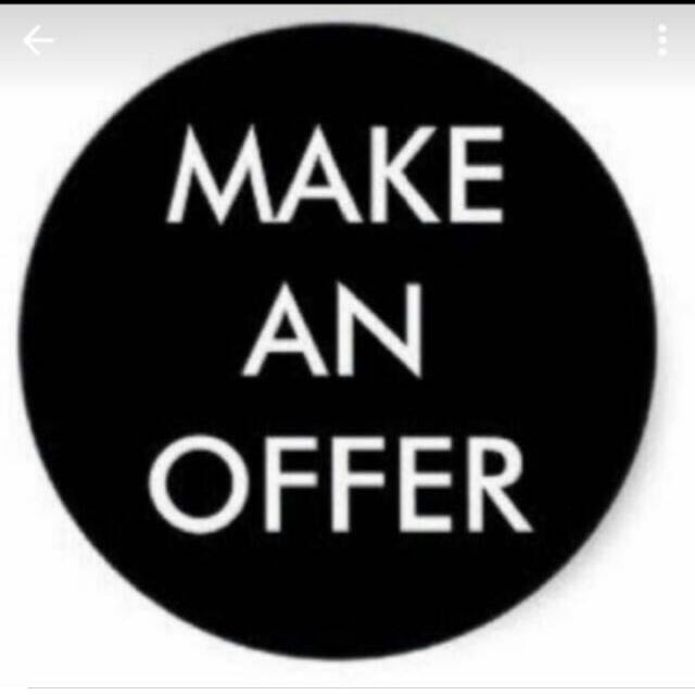 Offer acceptable price pls :)