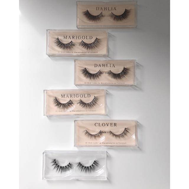 ONLY 4 PAIRS OF 3D MINK LASHES LEFT!