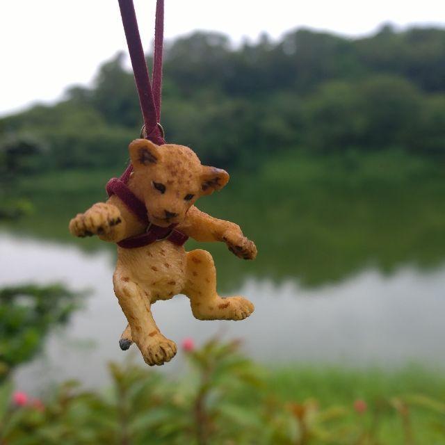 Handmade PAPO Animal Toy Necklace