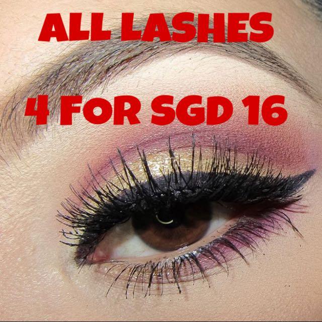 Promo Kara Eyelashes Angel Lash Health Beauty Makeup On Carousell