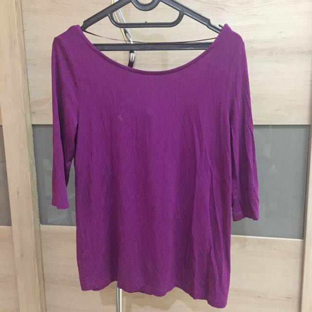 Pull & Bear Fuchsia Top