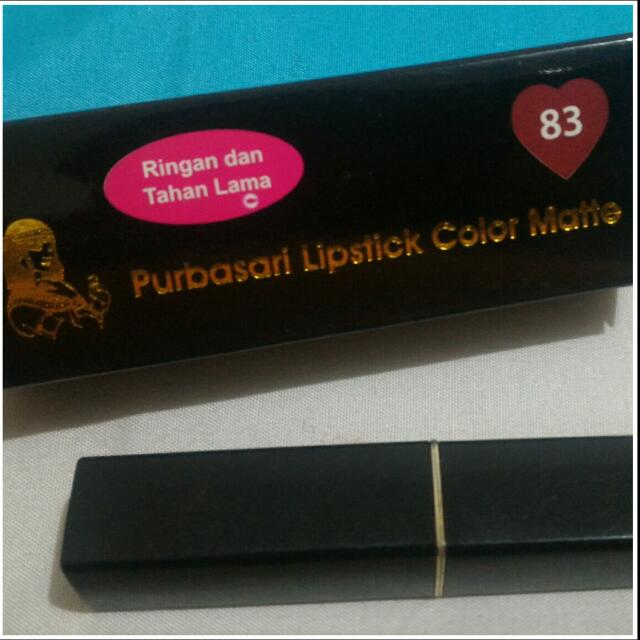 Purbasari Lipstick Color Matte - EC83 Pirus