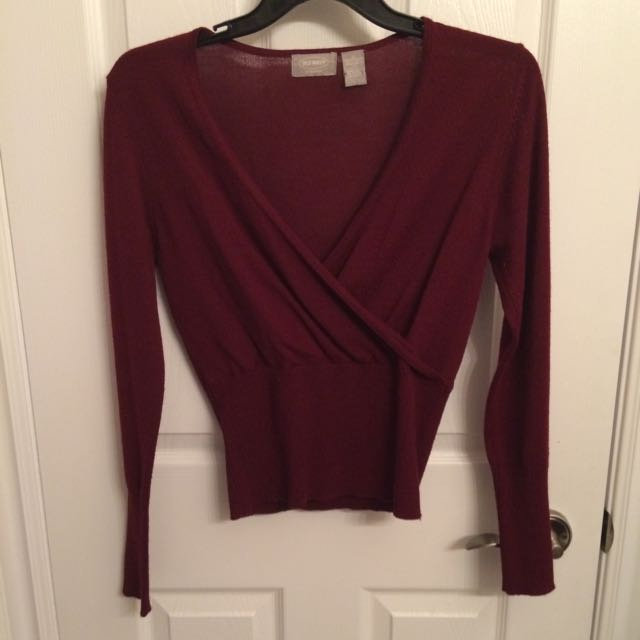 Red Old Navy Long Sleeve