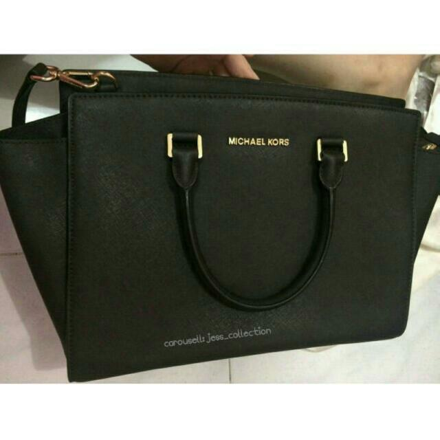 reprice mk michael kors selma luxury bags wallets on carousell rh id carousell com