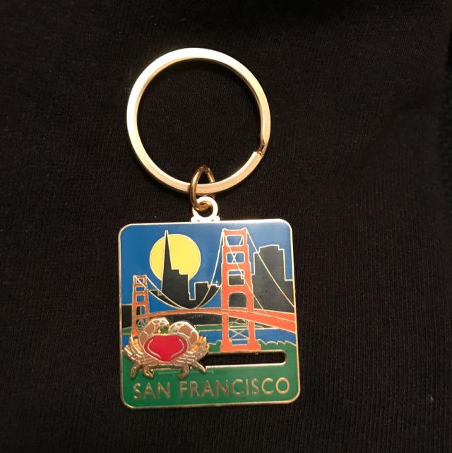 San Francisco 舊金山 鑰匙圈