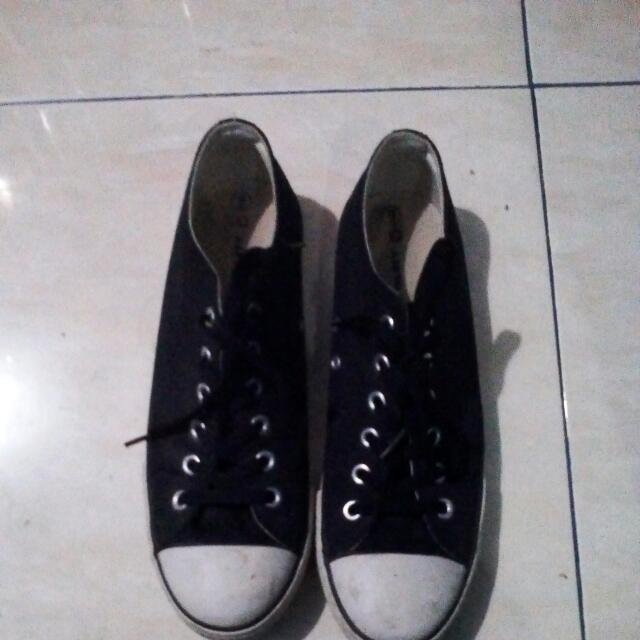 Sepatu Airwalk Starlow Black White