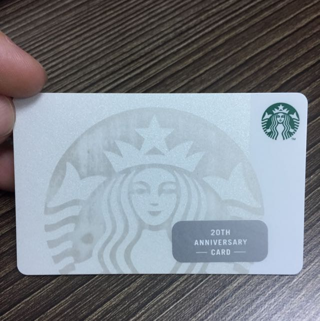 Starbucks singapore 20th birthday pearl card entertainment gift photo photo photo colourmoves