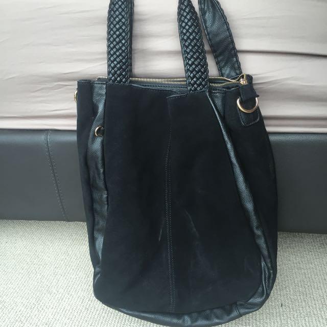STORM Black Handbag