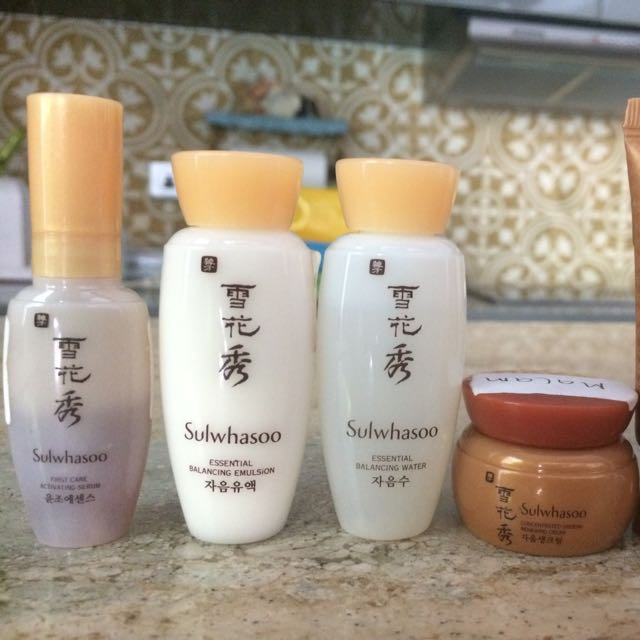 SULWHASOO GINSENG CONCENTRATED BASIC KIT 5 ITEMS