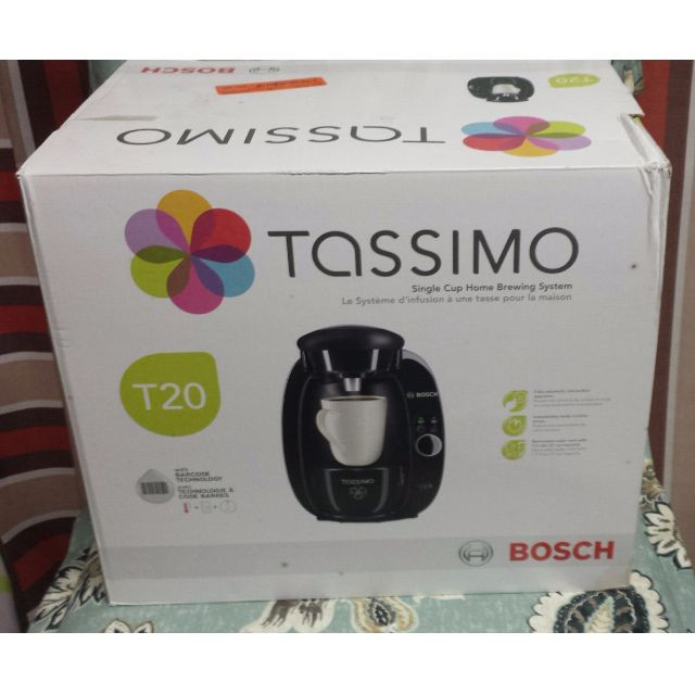 Tassimo T-20 Single Cup Home Brewing System
