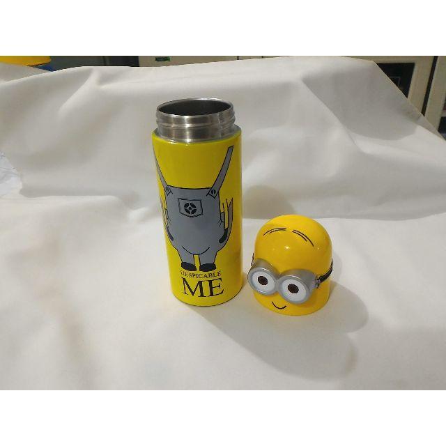 Termos / thermos / vacum flask / botol minum 350ml karakter Minion, Kitchen & Appliances on Carousell