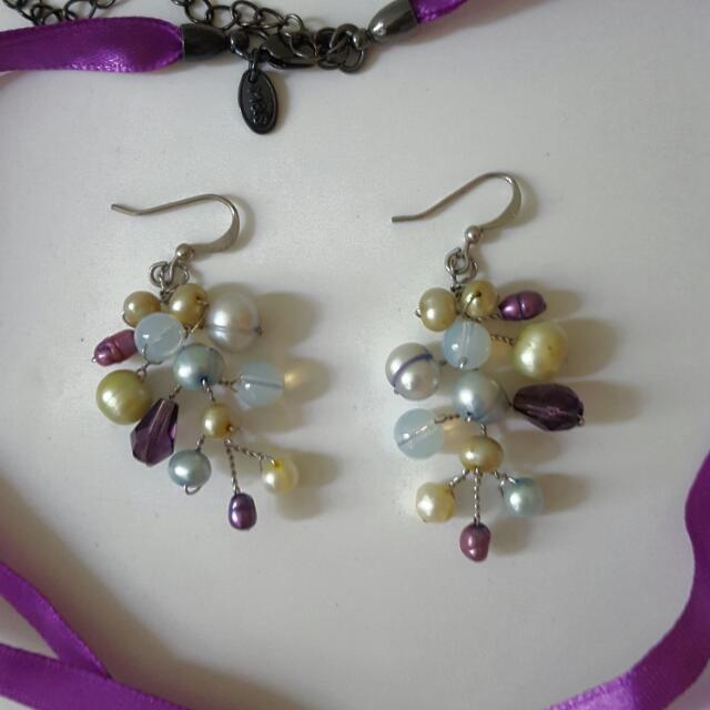 🍭Tree Pearls Earrings