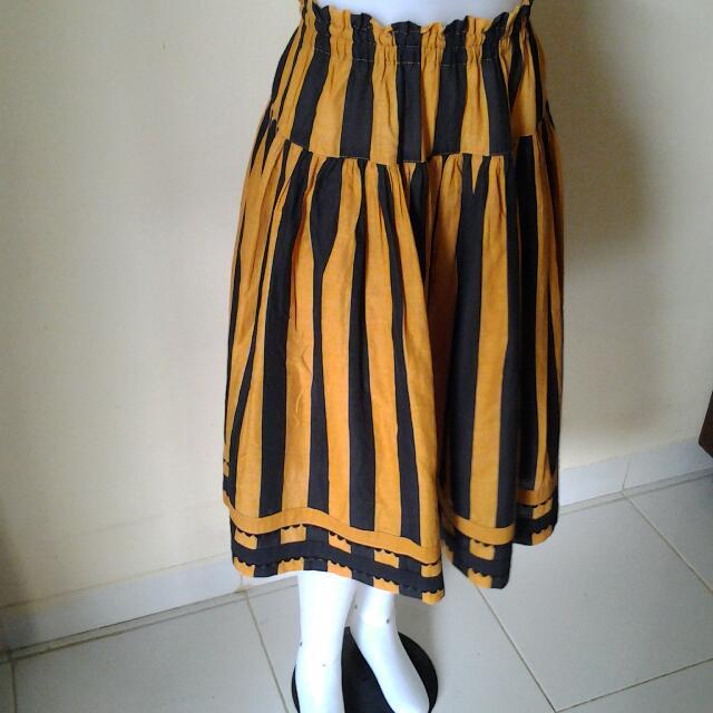 Vintage Stripe Skirt