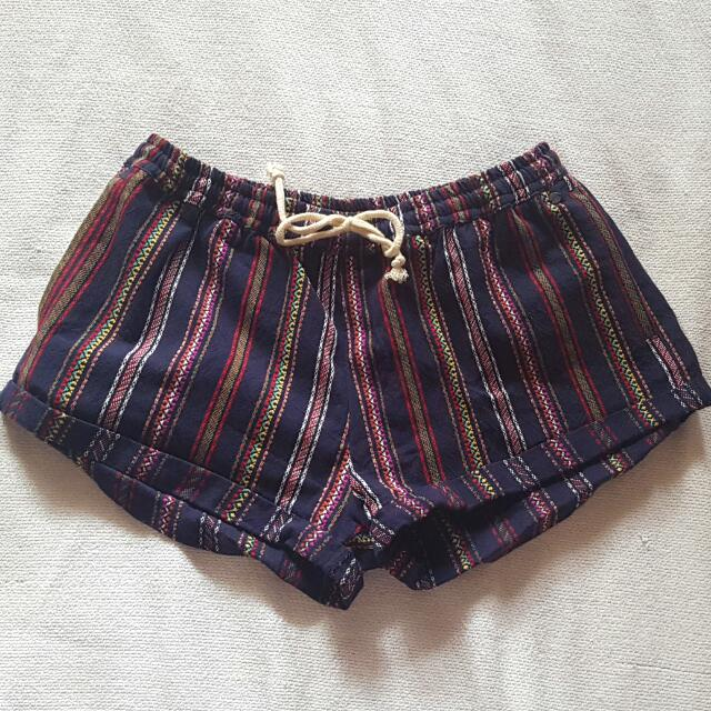 VONZIPPER: Aztec Woven Shorts.
