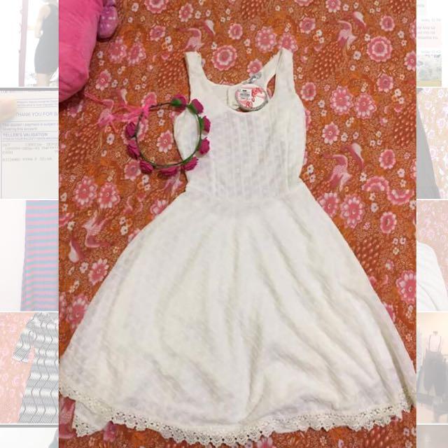 White Dress S-M