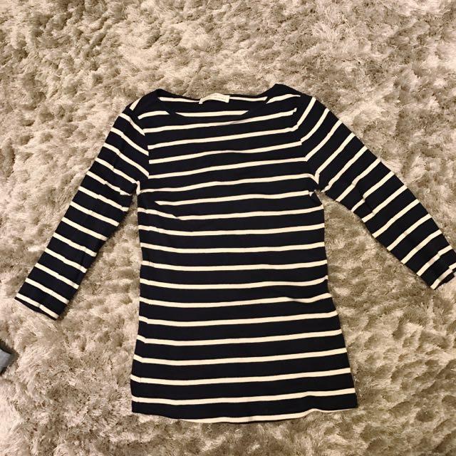 Zara 7分袖上衣
