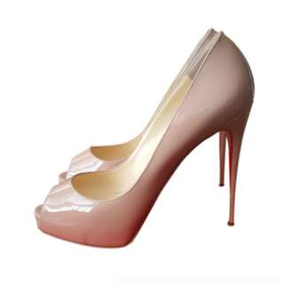 CHRISTIAN LOUBOUTIN VERY PRIVE 120 PATENT HIGH HEELS SIZE 40 RRP $1195[31% OFF]