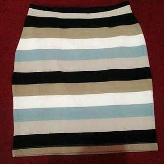 Rok Span Gris ( Stripe)