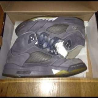 Jordan 5's - Wolf Greys
