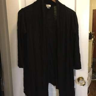 Black Slouchy Sweater
