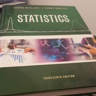 Statistics 13th Edition (James McClave, Terry Sincich)
