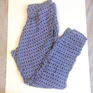 H&M Print Pants Size S