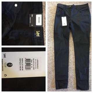 LEE Gloss Black Jeans *BRAND NEW*