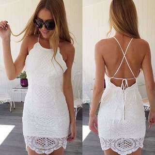 Lovely White Summer Dress