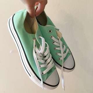 Converse Mint Green Shoe